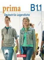 PRIMA B1.1. DEUTSCH FÜR JUGENDLICHE. Учебник по немски език за 8. клас интензивно (разширено) обучение