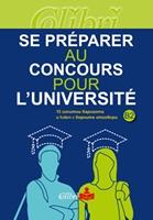 Se préparer au concours pour l université. 15 изпитни варианта и ключ с верните отговори
